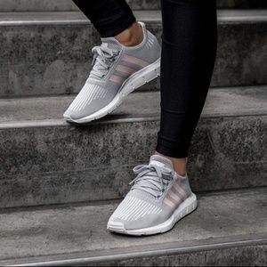 1c7be6ba4dbb adidas Shoes - ADIDAS SWIFT RUN CG4140 Grey Ice Pink Sz 6.5